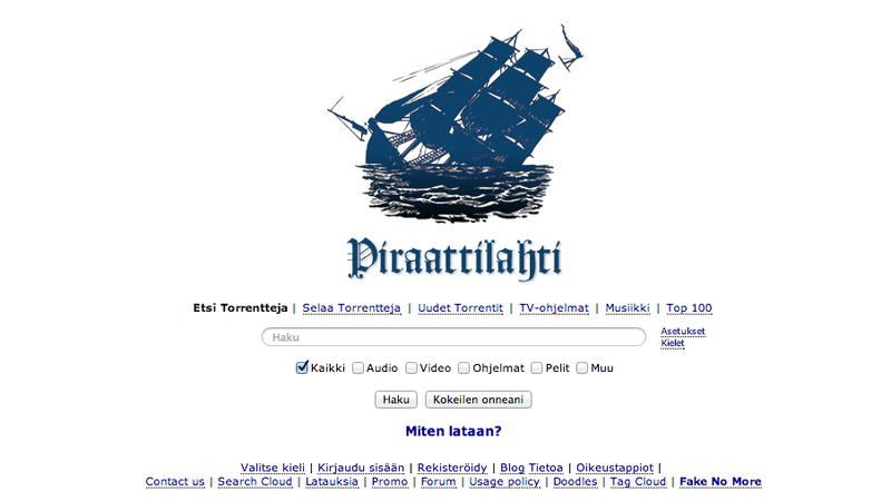 Illustration for article titled The Pirate Bay Threatens to Sue for—Get This—Copyright Infringement