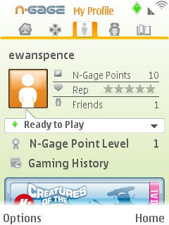 Illustration for article titled Nokia N-Gage Cellphone Gaming Platform in Beta...Looks OK-ish?