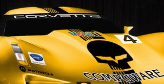 Illustration for article titled Corvette Stingray Racing Concept: If Sideswipe Were A Race Car
