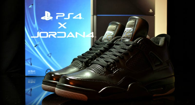 Illustration for article titled PS4 Sneakers Are Badass In The Front, Silly In The Back
