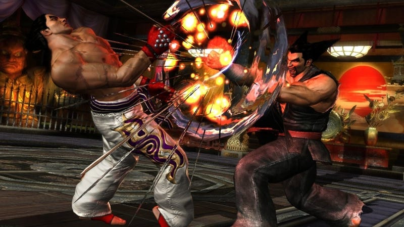 Illustration for article titled New Tekken Tag Tournament 2  Screens Show Off Father-on-Son Violence