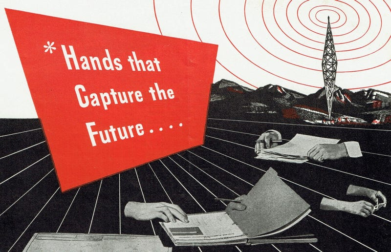 Illustration for article titled WWII Ad Promised That TV Was Just Around the Corner