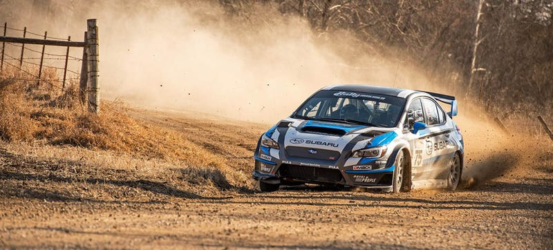 Illustration for article titled The Widebody 2015 Subaru WRX STI Rally Car Gives Me Life