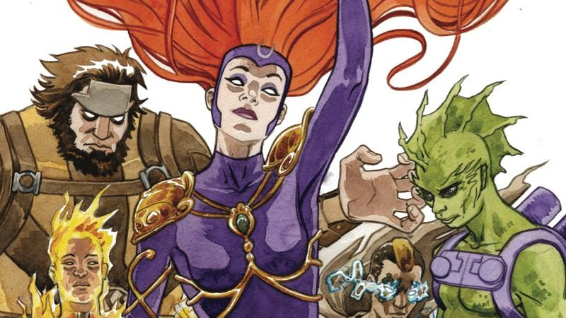 Illustration for article titled Exclusive Marvel preview: Medusa gets manipulated in Inhuman #13