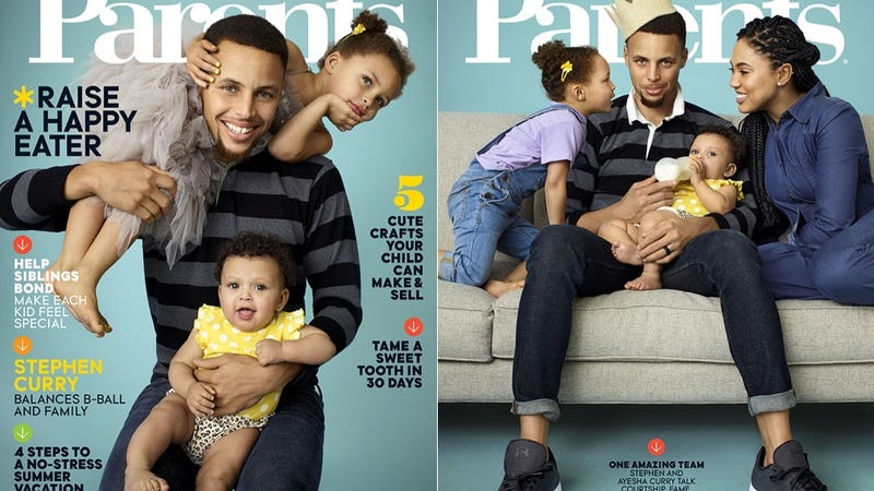Illustration for article titled Riley Curry Lands the Magazine Cover She Deserves