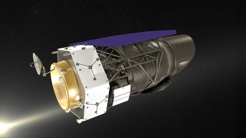 Rendering of the Wide Field Infrared Survey Telescope Image: NASA