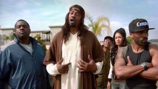 "Gerald ""Slink"" Johnson as Black JesusAdult Swim's Black Jesus screenshot"