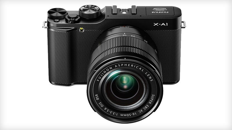 Illustration for article titled Fujifilm X-A1: This Mirrorless Shooter Is Budget Inside and Out