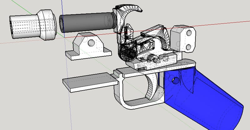 Illustration for article titled Plastic 3D-Printed Guns Just Got Bullets That Actually Work