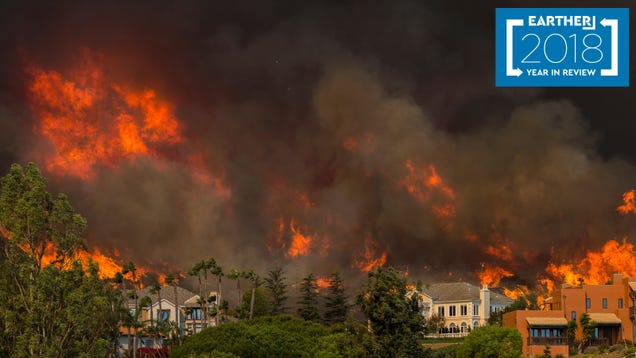 The Most Terrifying Climate Disasters of 2018