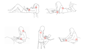 Illustration for article titled Common Laptop/Netbook Positions to Avoid