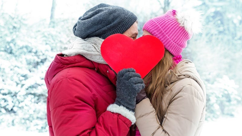Illustration for article titled How to Have A Sexy Valentine's Day Even When It Is Fucking Freezing