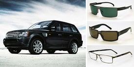 Illustration for article titled Range Rover Eyewear Is Flat, Boxy