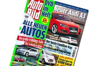 Illustration for article titled Next Gen Audi A3 Breaks on Autobild...Kinda