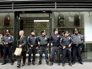 A group of New York City police officers (Getty Images)
