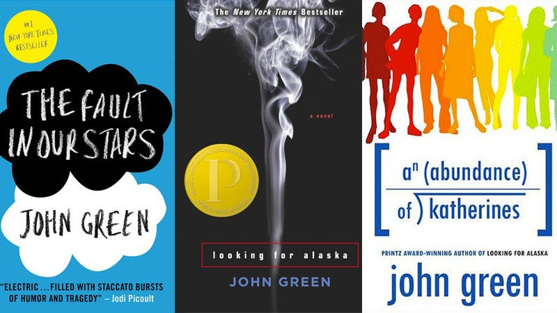 Write Your Very Own Hit YA Novel With Our John Green Book
