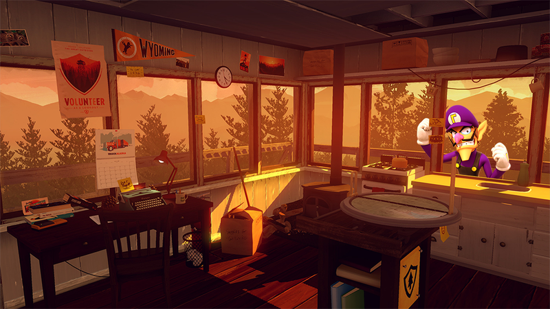 Illustration for article titled 'Shop Contest: Watch Out In Firewatch