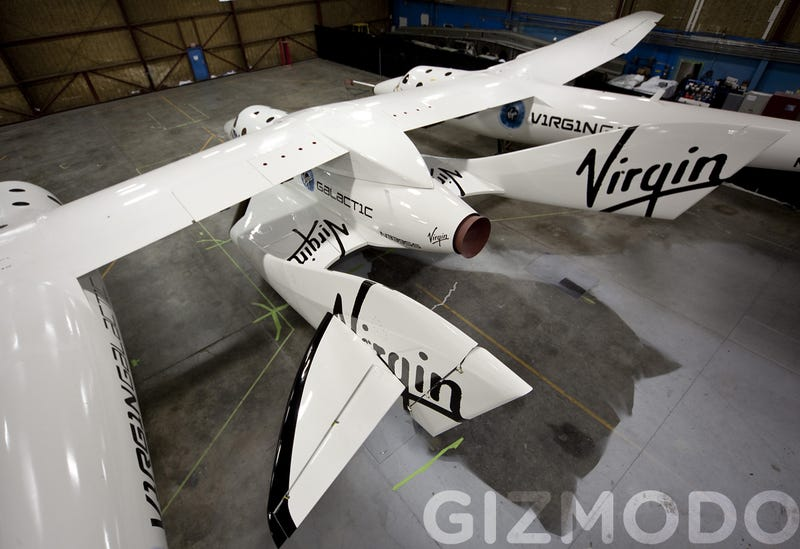 Illustration for article titled Virgin SpaceShipTwo Gallery