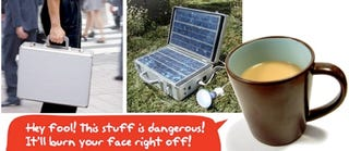 Illustration for article titled Sola Unagi: A Solar Generator to Charge Your Stuff, Suckas