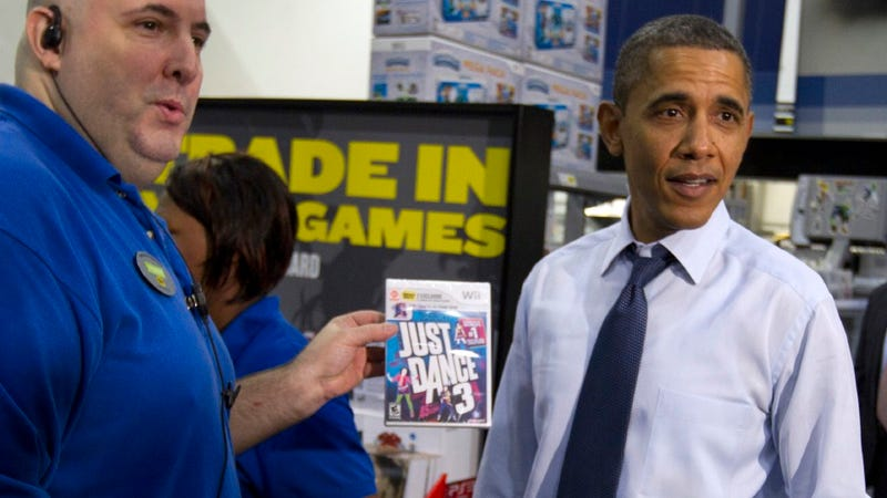 Illustration for article titled Wii-Owning President Obama Doesn't Care if the Xbox Version is Better