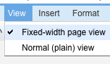 Illustration for article titled Google Docs Adds Fixed-Width Page View