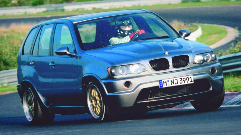 Remember When BMW Put A Le Mans Racing V12 In An X5?