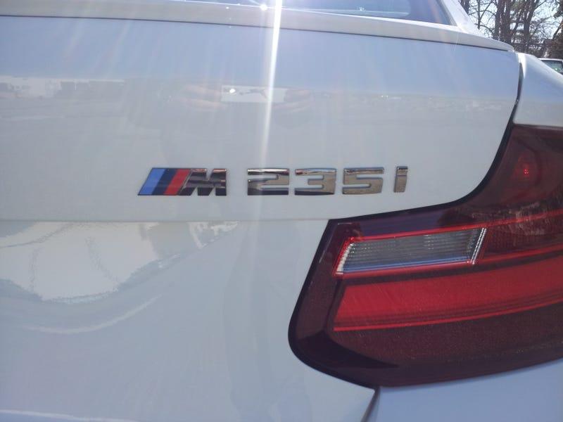 Illustration for article titled M235i
