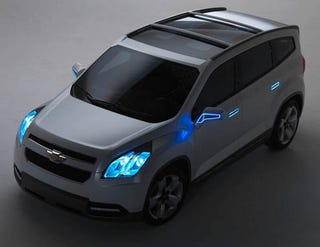 Illustration for article titled Meet The Chevy Orlando: A Minivan For Tron