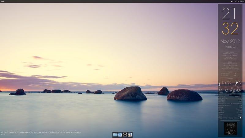 Illustration for article titled The Shoreline Desktop