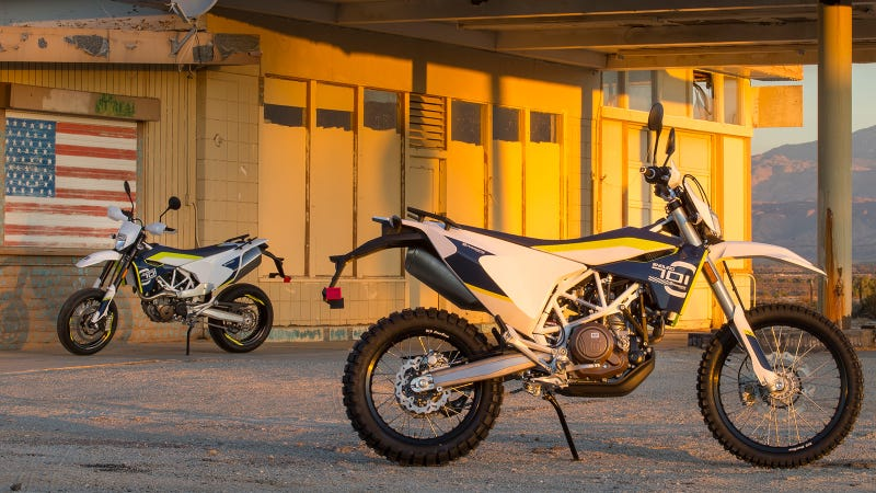 Illustration for article titled What Do You Want To Know About The Husqvarna 701 Supermoto And 701 Enduro?