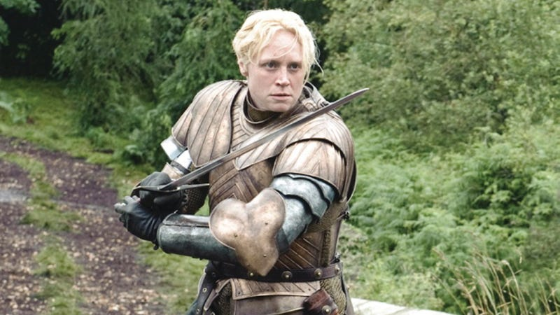 Illustration for article titled Gwendoline Christie, A.K.A Brienne of Tarth, on Chopping Her Hair Off and Becoming Best Gender Bending Warrior on Game of Thrones