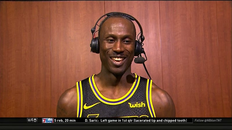Illustration for article titled 32-Year-Old Andre Ingram Stole The Show In His NBA Debut