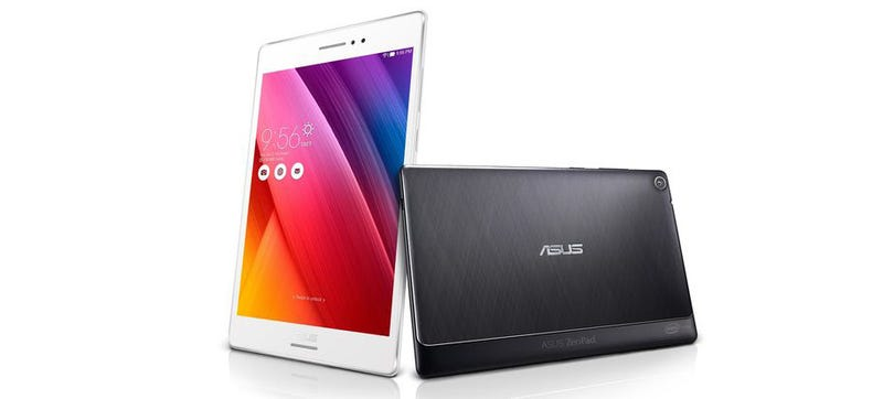 Illustration for article titled New Asus Tablet Has Swappable Backs That Add Extra Features