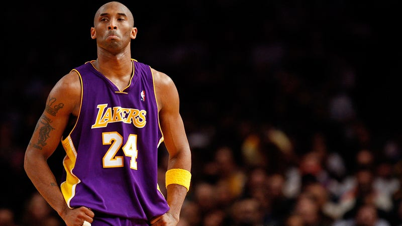 Kobe Bryant has been trying to write an inspiring article about his youth basketball team.