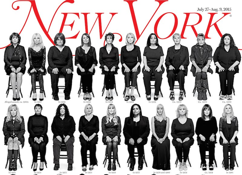 Illustration for article titled 35 Cosby Accusers Come Forward, Are Photographed For New York