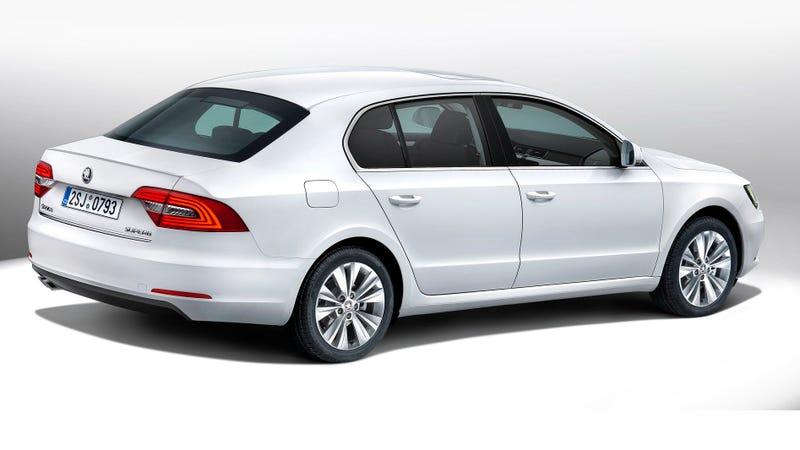 Illustration for article titled Volkswagen Keeps Dressing Škodas Like Audis