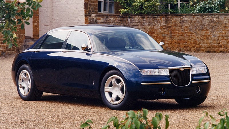 Aston Martin Once Built a Superluxury Sedan Concept Off a Lincoln Town Car