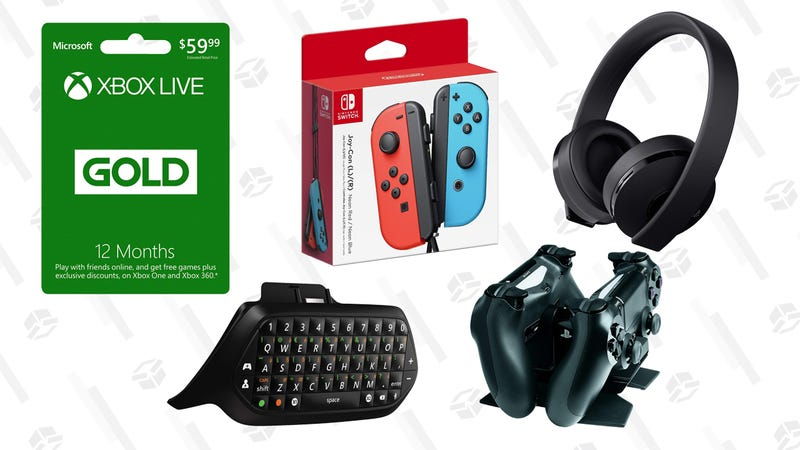 257a5a298853 Illustration for article titled All the Accessories You Forgot to Buy For  Your New Console