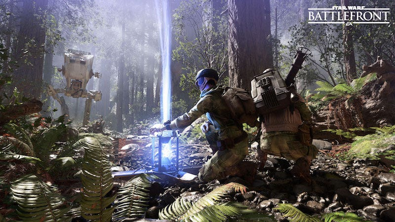 Illustration for article titled EA Says Star Wars Battlefront Didn't Have A Campaign Because Of The Force Awakens