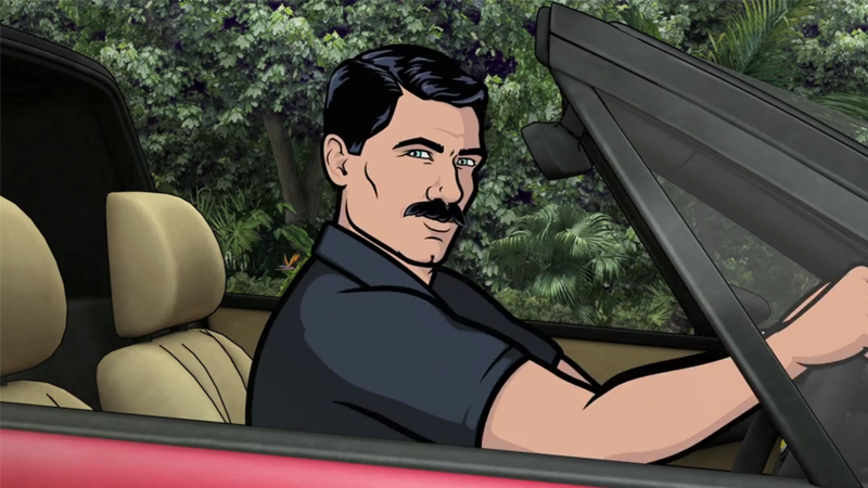 Illustration for article titled Archer Is Really Going All Magnum P.I. Next Season