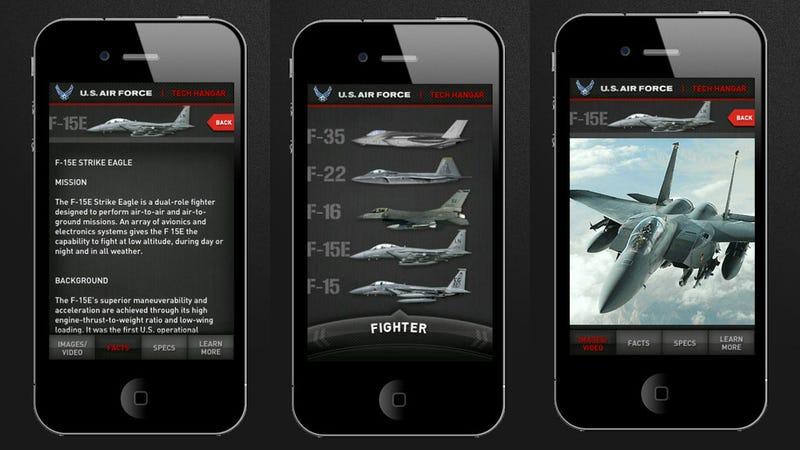Illustration for article titled Get All the American Military Airplanes In Your Pocket For Free