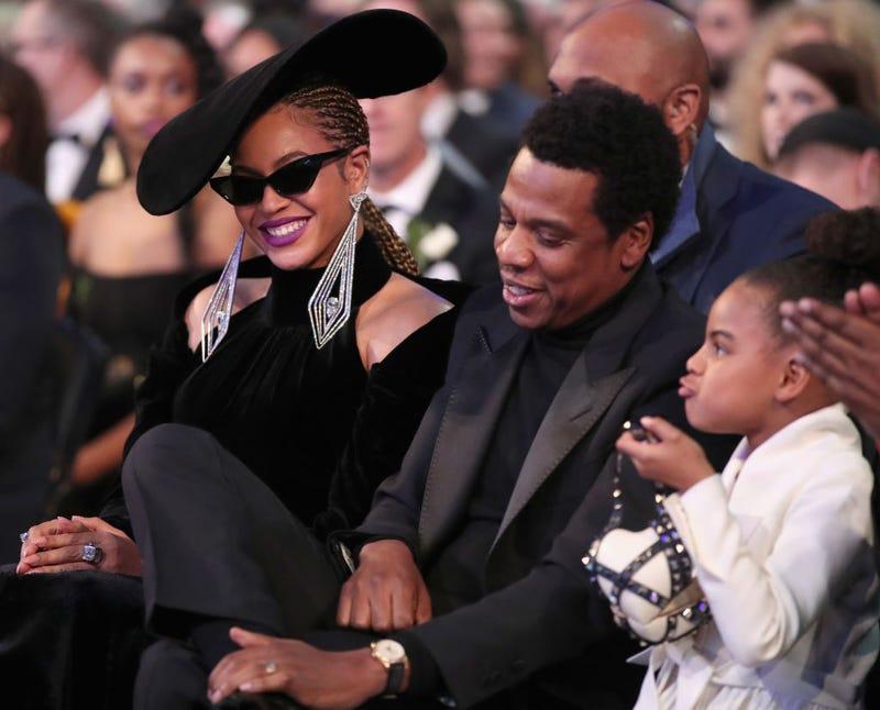Beyoncé, Jay-Z and Blue Ivy