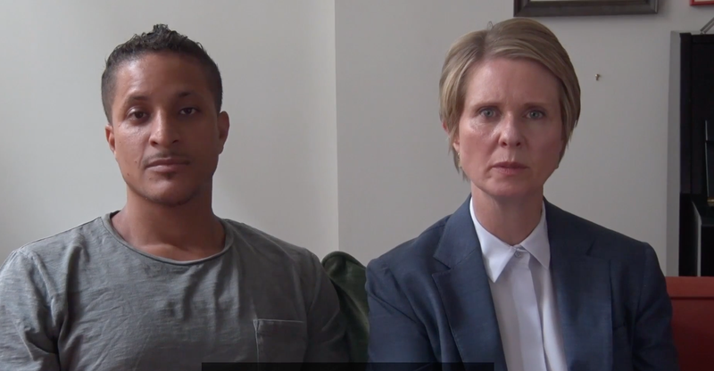 Illustration for article titled Brother of Kalief Browder Endorses Cynthia Nixon for New York Governor