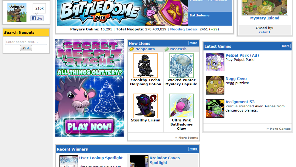 I Returned To Neopets After A Decade Of Abandonment, Only To