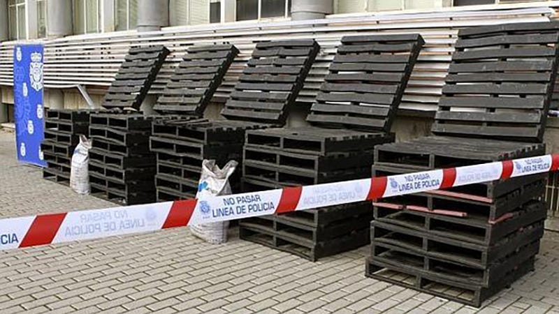 Smugglers Busted With Nearly $400 Million Worth of Cocaine Molded Into Shipping Pallets