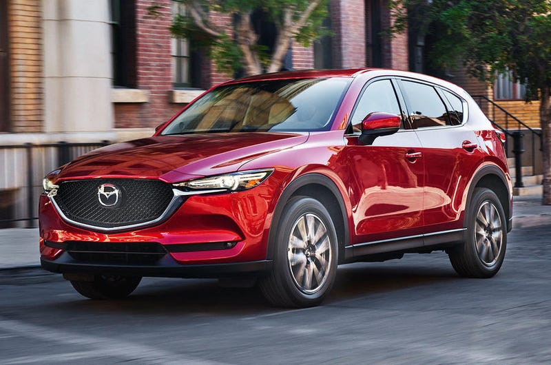 The Mazda Cx 5 Has Always Been A Handsome Crossover That Was Pretty Awesome For Coming With Manual Option It S New 2017 And Now Looks Like Baby