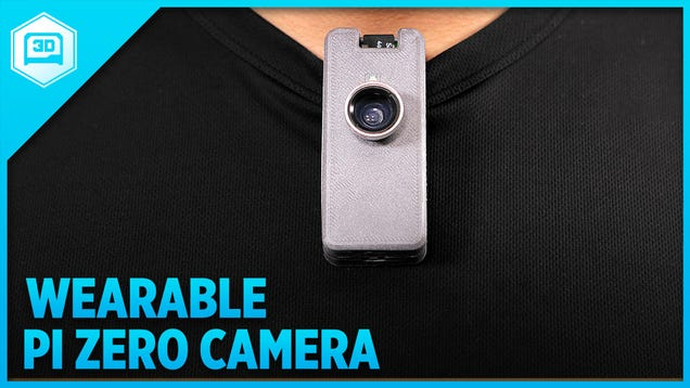 Build a Wearable Camera with a Raspberry Pi