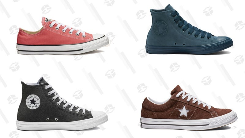 Select Sneakers | $25 | Converse | Promo code 25ALL