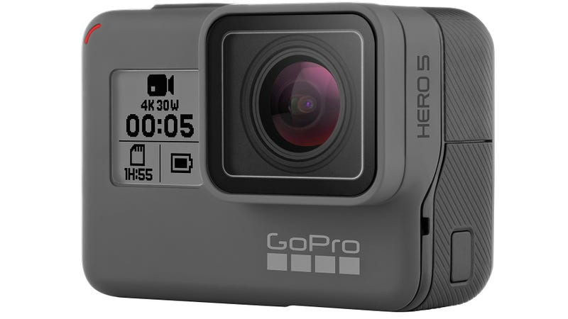 Illustration for article titled The GoPro Hero5 Is Finally Waterproof and Listens to Your Voice Commands