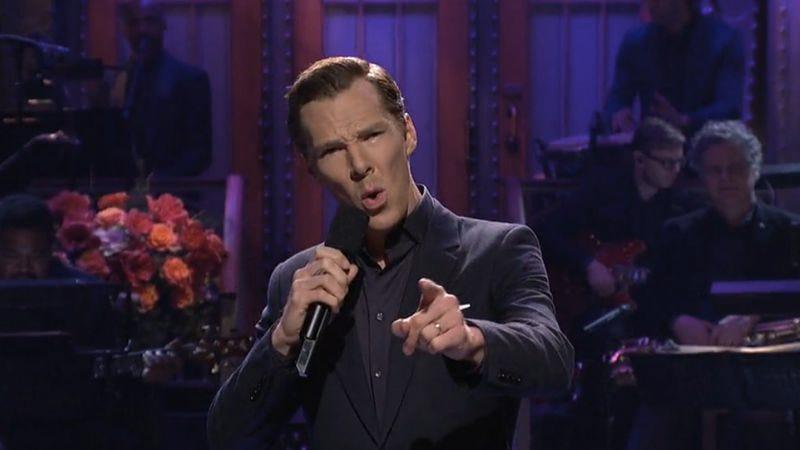 Benedict Cumberbatch (Screenshot/NBC)